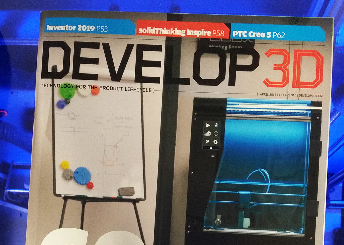 DEVELOP3D Cover Story April 2018 – How CEL took the next step to address the professional 3D printing market