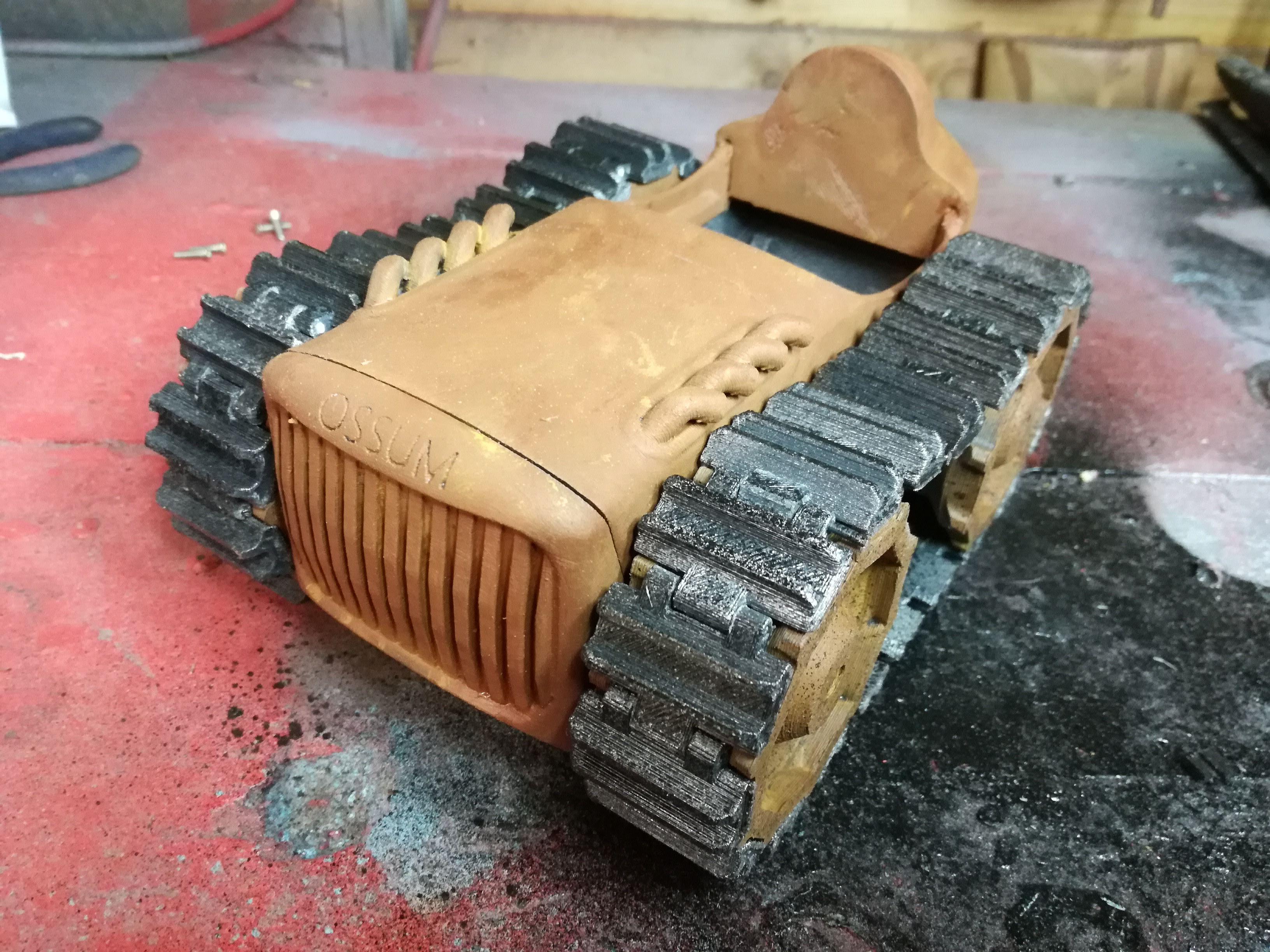Dieselpunk Crawler, Part 1